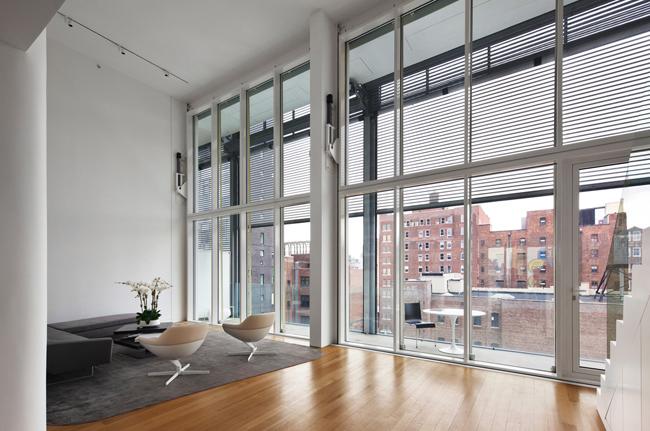 Shigeru ban ricardo kambara for Metal window shutters interior